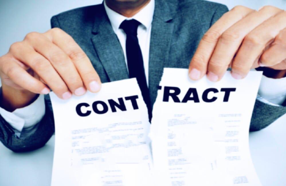 расторгнуть кредитный договор или договор вклада